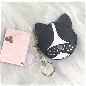 NWT! Ted Baker Cat Coin Purse Keychain Fob